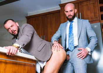 "Men At Play: Bruno Max and Sir Peter take turns fucking each other in ""Payback"""