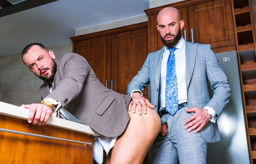 """Men At Play: Bruno Max and Sir Peter take turns fucking each other in """"Payback"""""""