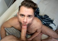 """Reality Dudes: Blaze Austin sucks dick and gets fucked in Str8 Chaser's """"Layover"""""""