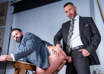 "Men At Play: Gustavo Cruz raw-fucks Dani Robles in ""Servicing The Boss"""