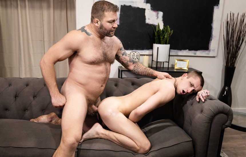 """MEN: Colby Jansen fucks Theo Brady and cums in his face in """"Shortcummings"""""""