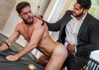 """Manuel Reyes submits to Viktor Rom in """"Gentlemen 30: Sweating Some Overtime"""" (sc 2)"""
