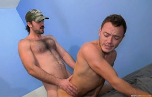 Next Door Studios: Barret Dean gets fucked by Mason Lear in a homemade video
