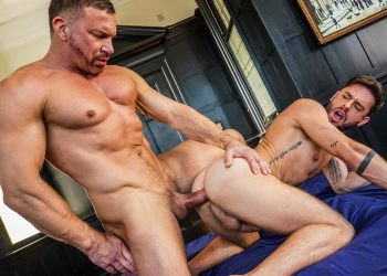 """Lucas Entertainment: Manuel Reyes takes Tomas Brand's daddy dick in """"Open Up For Daddy"""" (sc 3)"""