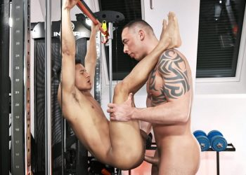TimTales: Santiago bottoms for Tian Tao and can't get enough of that big raw cock