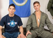 Active Duty: Brandon Anderson gives Jim Fit a deep and raw pounding