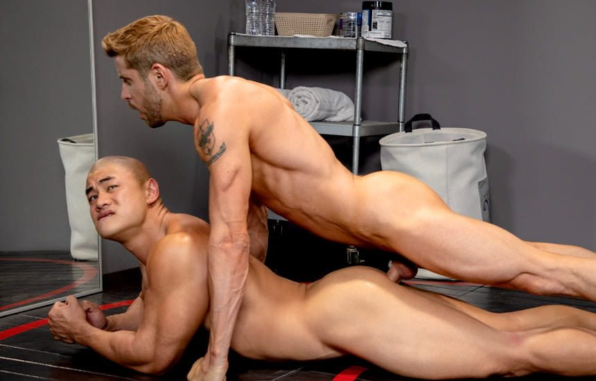 """Hot House: Aaron Chu gets fucked by Johnny Ford in """"Capitol Affairs"""" (scene 3)"""