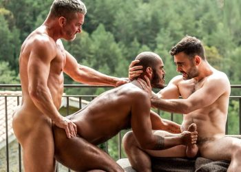 """Max Arion, Tomas Brand and Louis Ricaute fuck in """"Daddy's Bitch Boys"""" (scene 3)"""