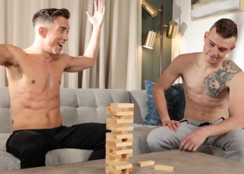 """Next Door Studios: Isaac Parker and Scott Finn flip-fuck in """"I'm Game If You Are"""""""
