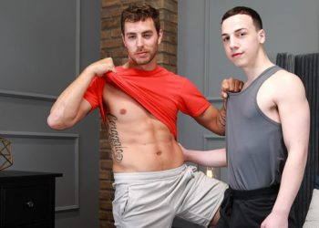 """Next Door Taboo: Carter Woods pounds Troye Jacobs in """"Sampling Their Stepbrothers"""" (part 2)"""