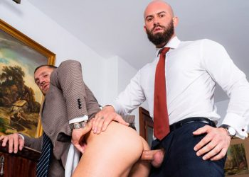 """Men At Play: Emir Boscatto gets fucked by Bruno Max in """"Wet Personal Assistant"""""""