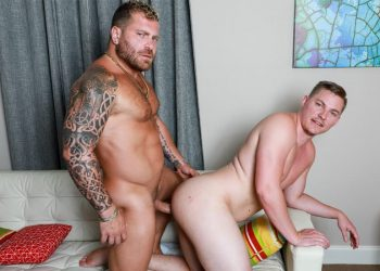 """Pride Studios: Bryce Kent bottoms for his stepdad Riley Mitchel in """"Don't Tell Your Dad"""""""