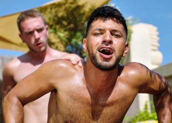 TimTales: Hung newcomer Apolo Adrii gives Oskar Ivan a hard and deep pounding